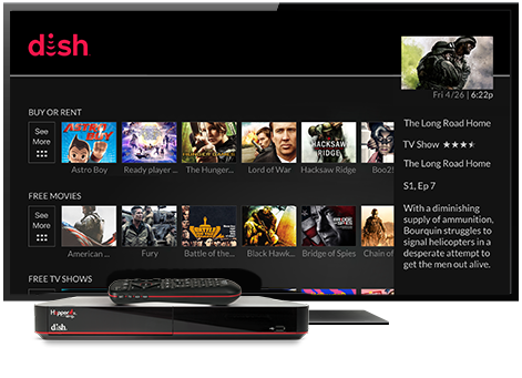 Ondemand TV from DISH | Advantage Satellite